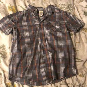 kids plaid shirt